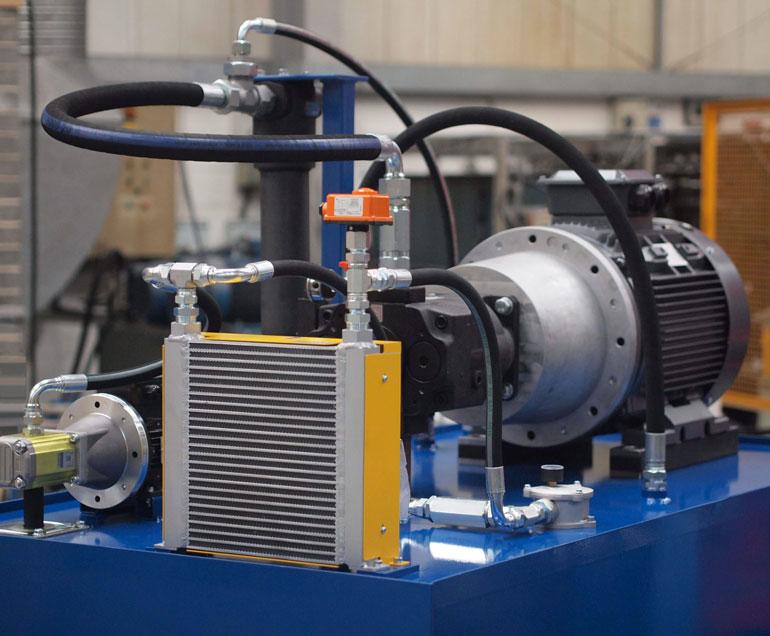 hydraulic cooler