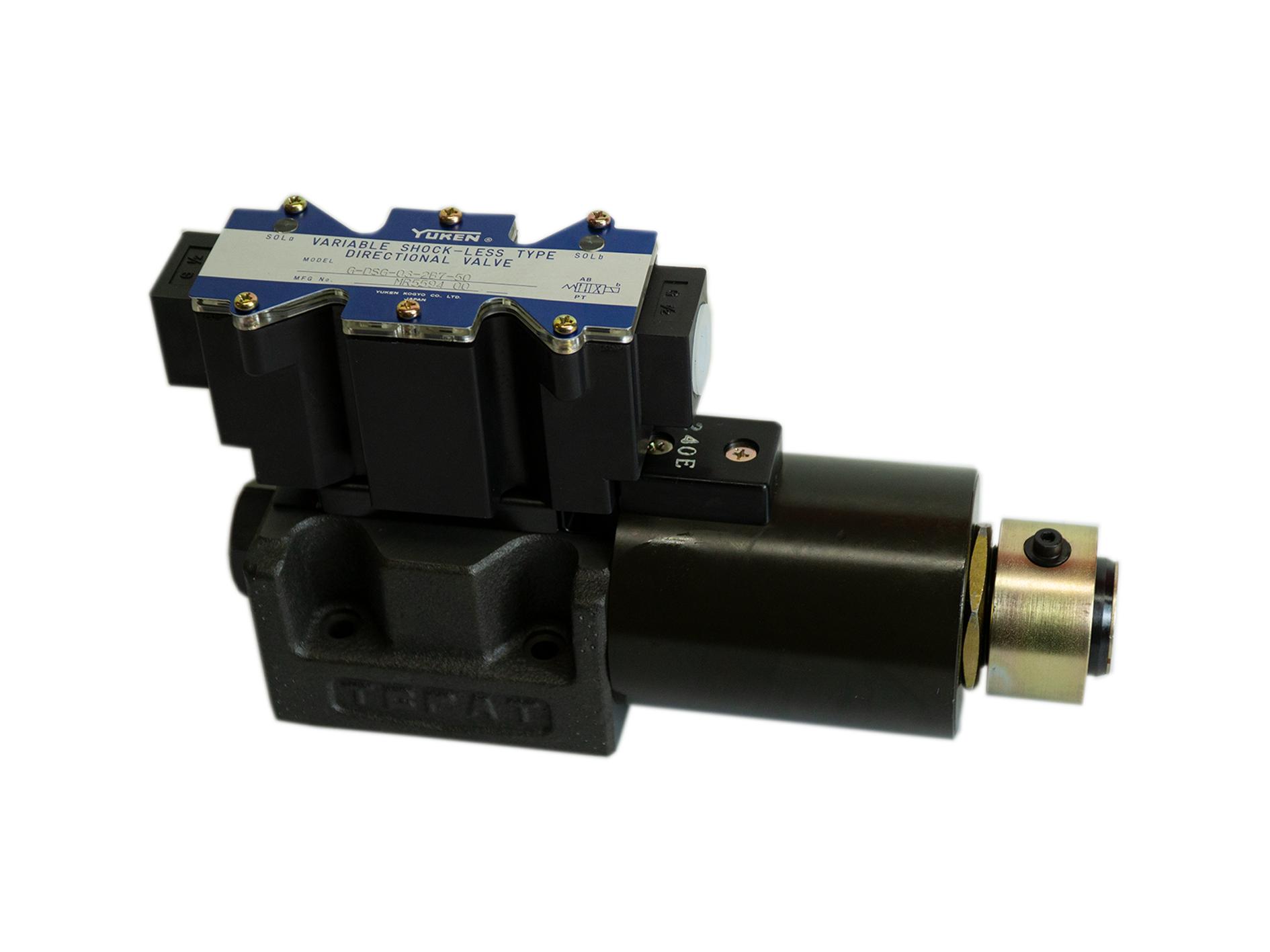 Yuken-shock-less-type-directional-valve-G-DSG